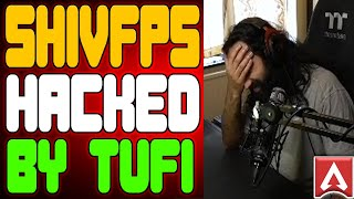 Tufi Hacked ShivFPS  GLL Tournament Servers  Shivfps Rage Moments  Apex Legends Funny/WTF Moments