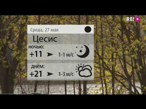 Прогноз погоды на 27.05