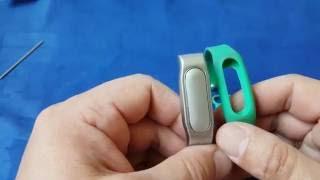 Металлический браслет для Xiaomi Miband/1S с Gearbest. Распаковка и обзор