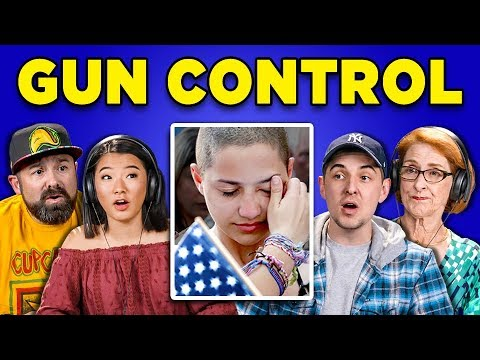 GENERATIONS REACT TO GUN CONTROL IN AMERICA