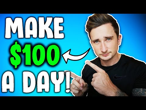 How To Make $100 PER DAY Doing Basically NOTHING! (Make Money Online)