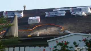 Use Lawn Blowers To Avoid Slipping Off Of Roofs - Re-roofing Installation Tips