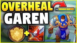 KOREAN OVERHEAL GAREN! FULL HP IN 2 SECONDS!! (MAX HEALING) - League of Legends