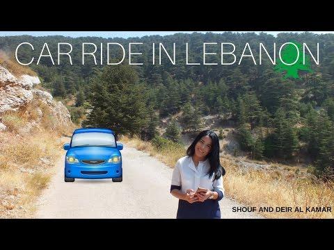 CAR RIDE IN LEBANON - Shouf and Deir El Kamar