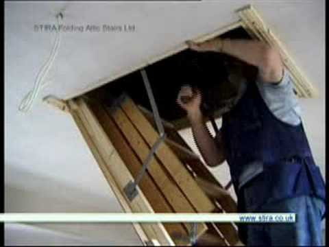 Installing Attic Stairs & Installing Attic Stairs - YouTube