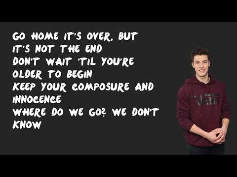 One of Those Nights - Shawn Mendes (Lyrics)