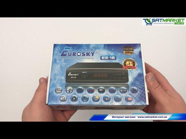 Видео обзор Eurosky ES-18