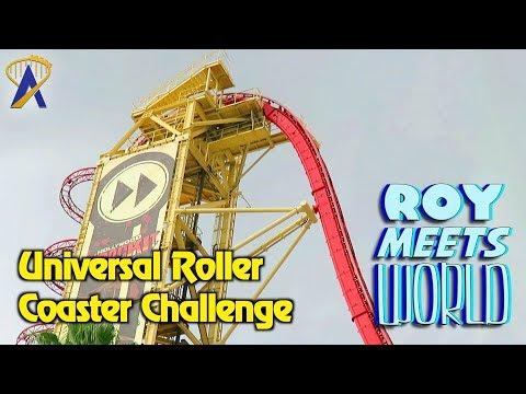 Universal Roller Coaster Challenge - Roy Meets World