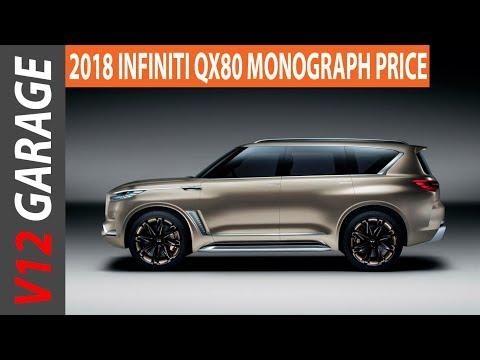 2018 Infiniti QX80 Monograph Price and Interior