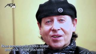 SCORPIONS : ANNONCE EXCLUSIVE !