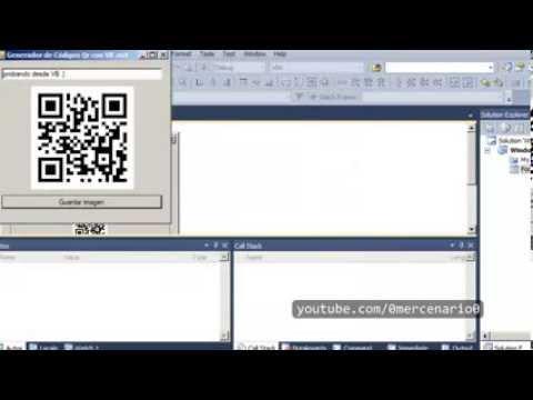 Cómo generar códigos qr visual basic net - how to generate qr codes visual basic net