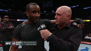 UFC 245: Geoff Neal Octagon Interview