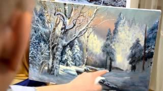 Занятие в школе живописи #26