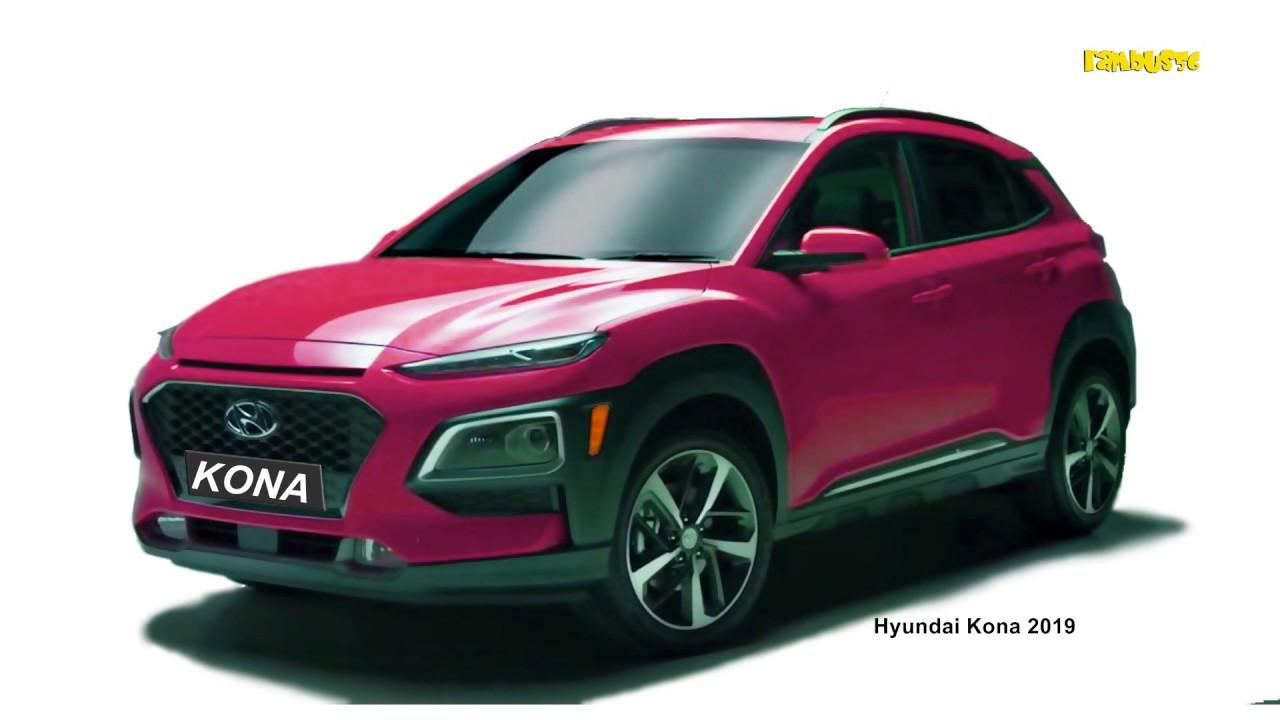 Hyundai Kona 2019 Exterior Color Concept Color For You Youtube