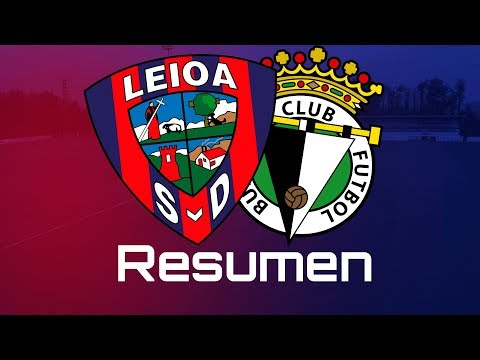 Resumen del SD Leioa - Burgos CF (1-0)