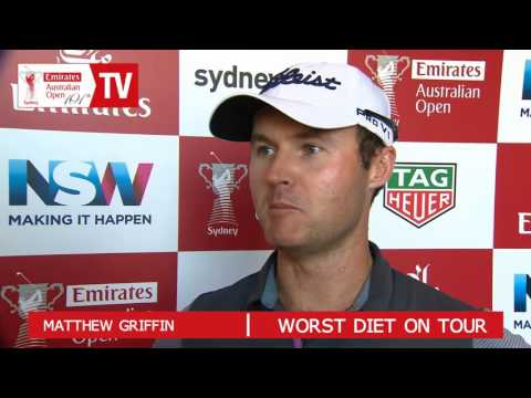 AOTV: Who really does have the worst diet on the Australian golf tour?