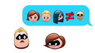 The Incredibles As Told By Emoji by Disney