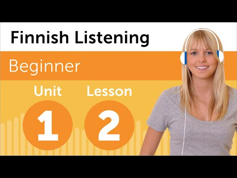 Finnish Listening Practice - Rearranging the Office in Finland