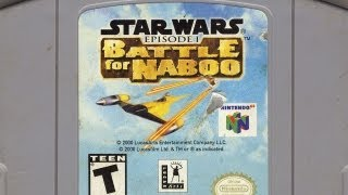 Classic Game Room - STAR WARS EPISODE 1: BATTLE FOR NABOO review for N64