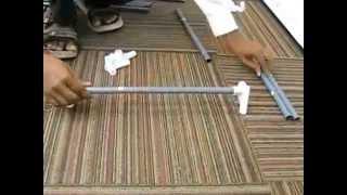 How To Install Kawachi Single Door Canvas Folding Wardrobe