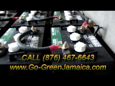 OFF GRID SOLAR  INSTALLATION IN ST. ELIZABETH JAMAICA