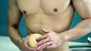 LoveYourself   FOOD PORN -- Wear it. Wet it. Better safe when horny.