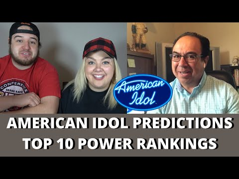 American Idol 2020 Predictions | TOP 10 POWER RANKINGS