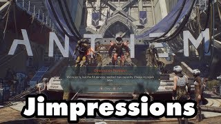 Anthem Demo - Load To Nowhere (Jimpressions) (Video Game Video Review)