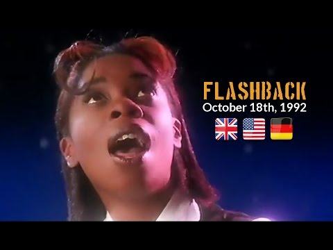 Flashback - October 18th, 1992 [UK/US/GER-Charts]
