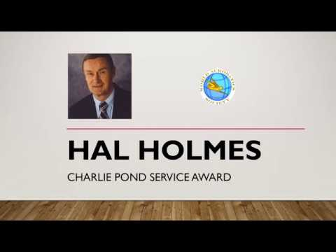 Hal Holmes - - 2017 W.A.S. Charlie Pond Award