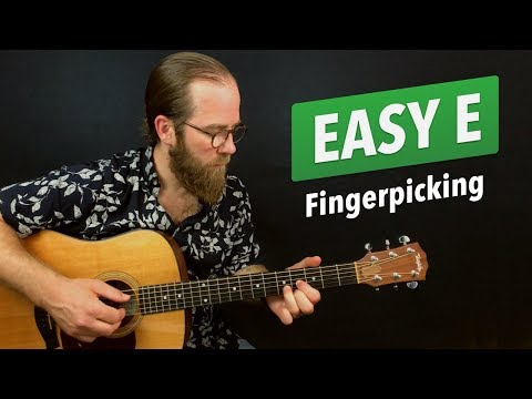 Easy E Fingerpicking (Warm Up Exercise #2)