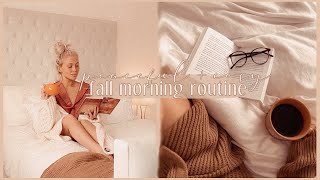 autumn morning routine 2020 | calming, cosy & productive 🍂
