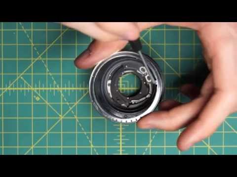 Olympus OM-System F.Zuiko Auto-S 50mm f1.8 Lens Disassembly