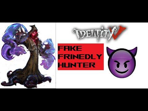 Hunter fake Hunter's 'Invisibility