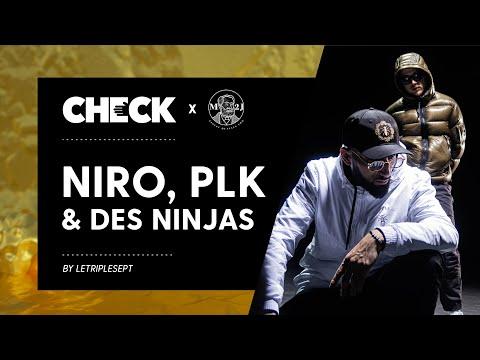 Youtube: Niro, PLK et des Ninjas