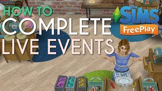 How I Complete Live Events In Time   The Sims Freeplay Video