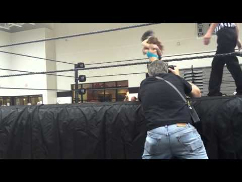 WWE FCW/NXT Live Event Clip - August 17, 2012: Skyler Moon & Paige Vs Emma & Audrey Marie