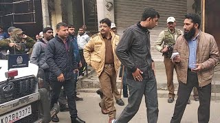 DC Doda, SSP Doda visited Thathri to review demands | Protest after one Killed in Stone Pelting