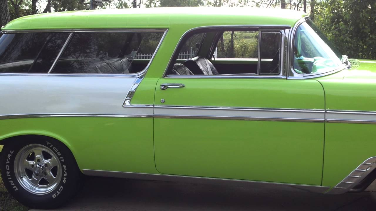 All Chevy 1956 chevy nomad for sale : 1956 Chevy Nomad For Sale Fresh Restoration Pic Documented For ...