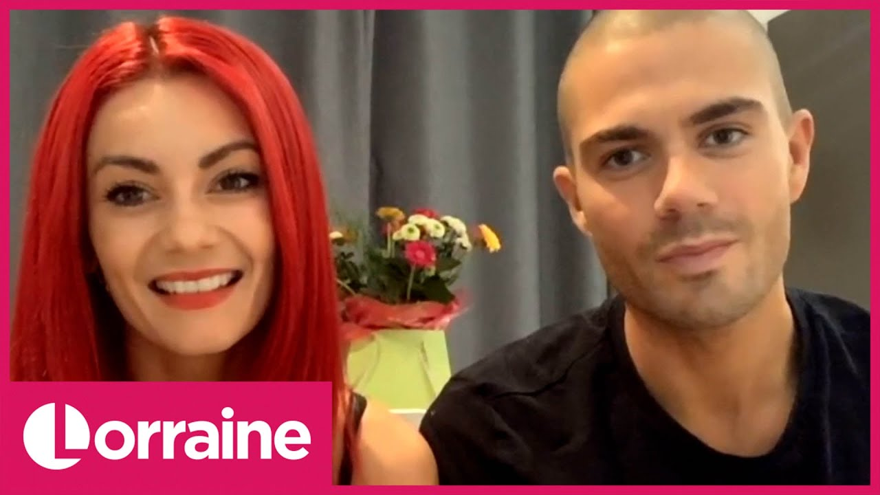 Strictly's Max George Sends Heartfelt Message to His The Wanted Bandmate Tom Parker | Lorraine