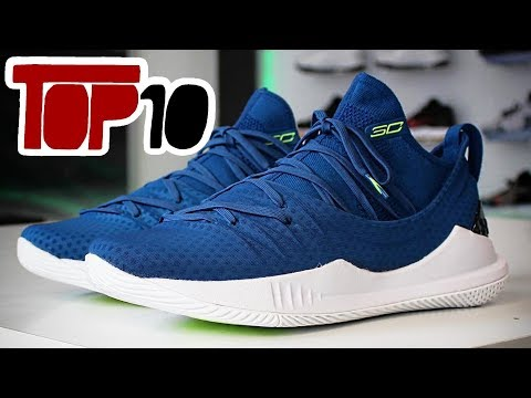 Top 10 Under Armour Curry 5 Shoes Of 2018