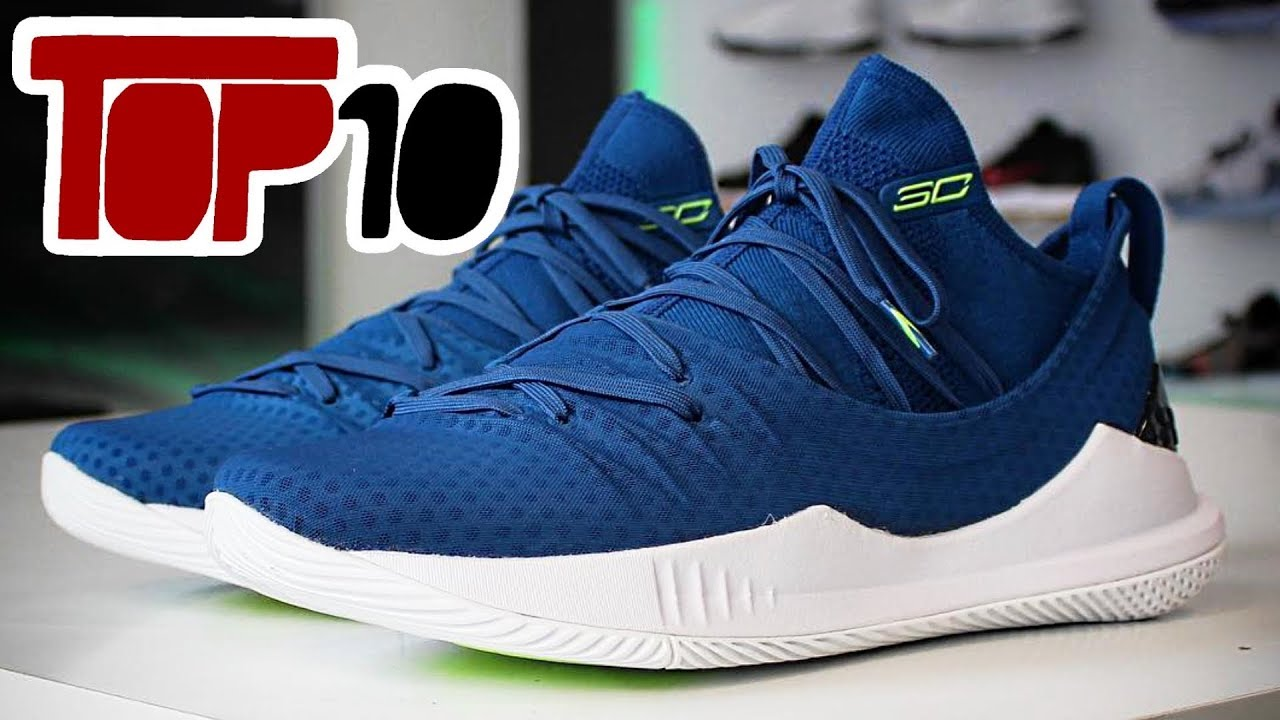 4a43f7792875 Top 10 Under Armour Curry 5 Shoes Of 2018 - YouTube