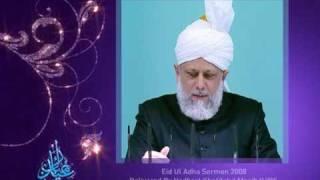 Eid Ul Adha 2009 - The Importance of Sacrifice (Urdu) - 2