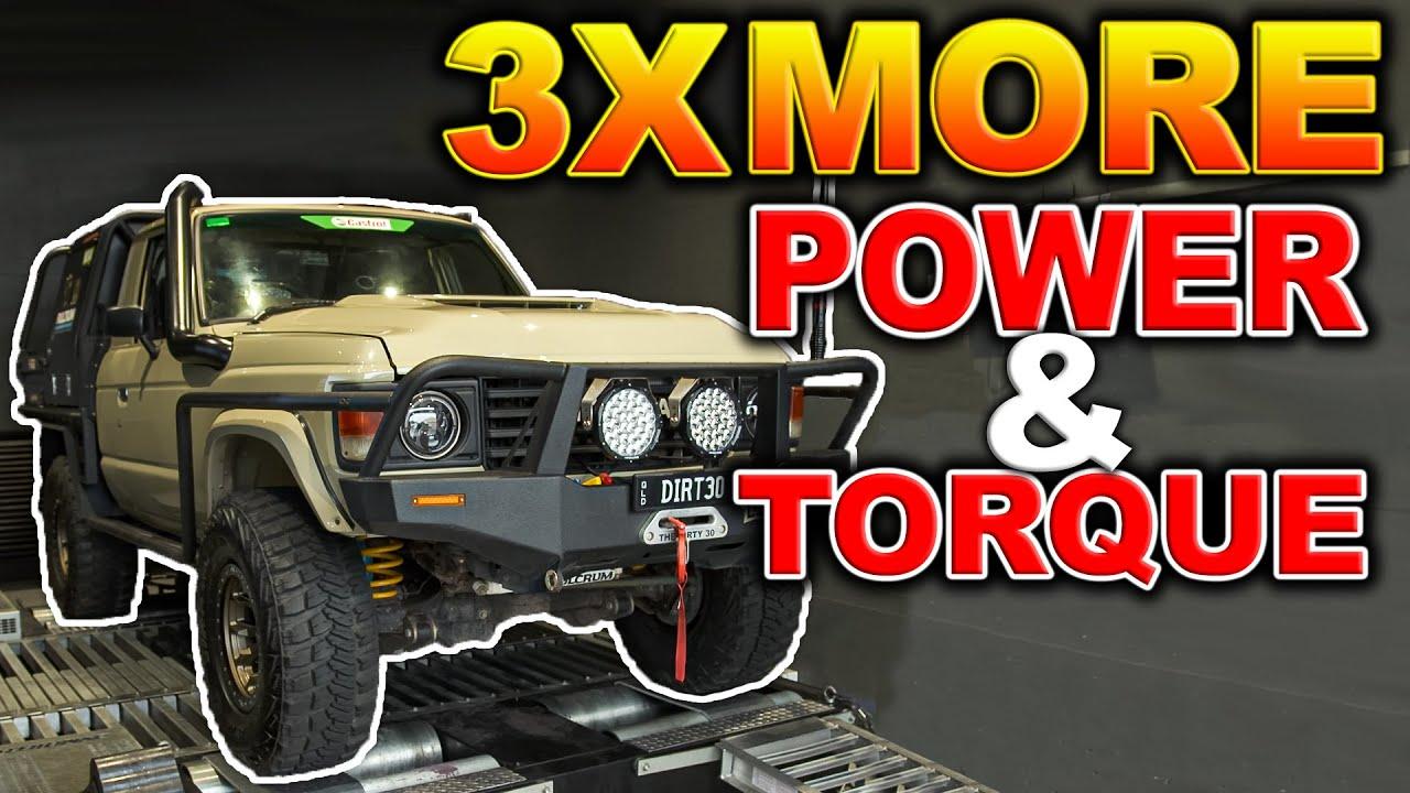 HUGE DIRTY 30 POWER GAINS! – Shauno was SHOCKED! | 770+Nm & Lower EGTS – how he did it!