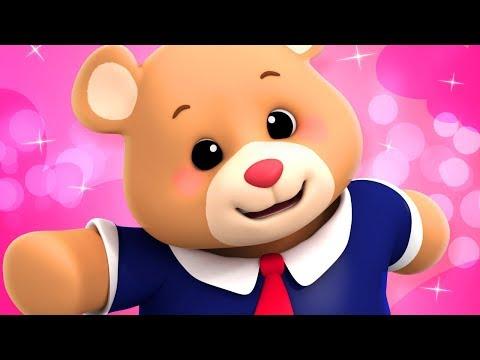 TEDDY BEAR TEDDY BEAR | NURSERY RHYMES SONGS FOR KIDS | LUKE AND LILY RHYMES
