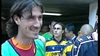 Channel 4 Football Italia Live 2000 2001 Roma v Parma_Peter Brackley