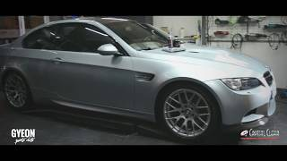 full  detailing by crystal clear m3 e92 gyeon - swissvax
