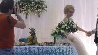 Татарский танец на свадьбе