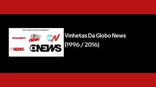 Vinheta Globo News 1996/2016