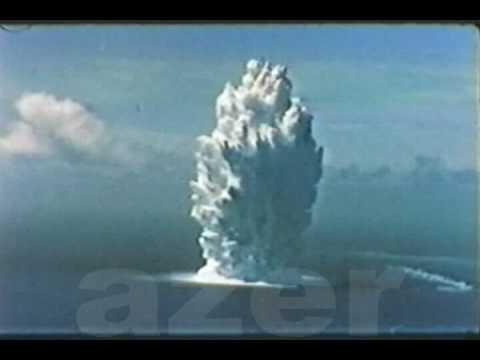 operation Hardtack :umbrella 1958 atomic bomb test